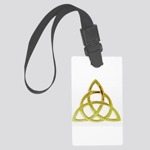 Triquetra, Charmed, Book of Shad Large Luggage Tag