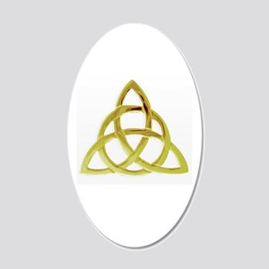Triquetra, Charmed, Book of 20x12 Oval Wall Decal