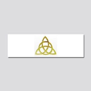 Triquetra, Charmed, Book of Shad Car Magnet 10 x 3
