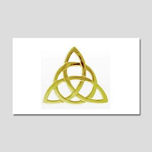 Triquetra, Charmed, Book of Sha Car Magnet 20 x 12