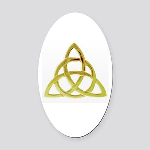 Triquetra, Charmed, Book of Shadow Oval Car Magnet