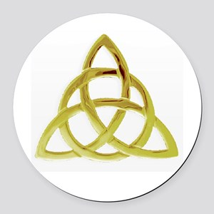 Triquetra, Charmed, Book of Shado Round Car Magnet