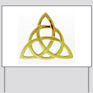 Triquetra, Charmed, Book of Shadows Yard Sign