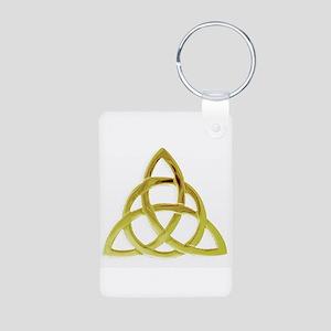 Triquetra, Charmed, Book o Aluminum Photo Keychain
