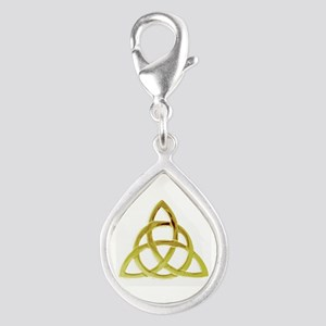 Triquetra, Charmed, Book of Silver Teardrop Charm