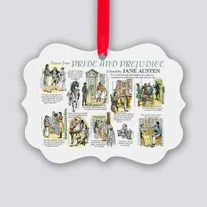Scenes from Pride and Prejudice Picture Ornament