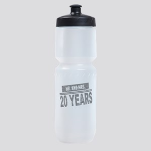 Mr. And Mrs. 20 Years Sports Bottle