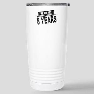 Mr. And Mrs. 8 Years Travel Mug