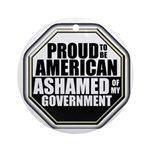 Proud to be American Ornament (Round)