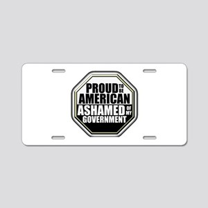Proud to be American Aluminum License Plate