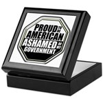 Proud to be American Keepsake Box