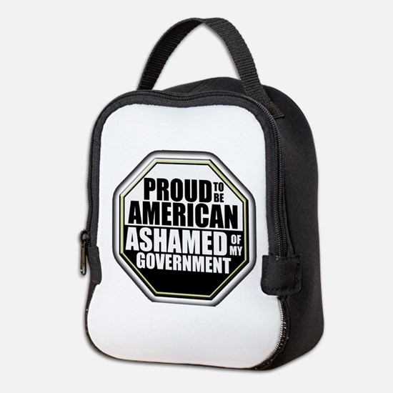 Proud to be American Neoprene Lunch Bag
