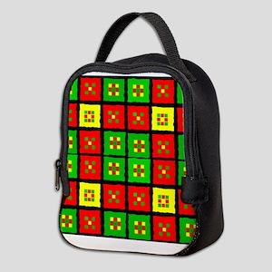 African American Neoprene Lunch Bag