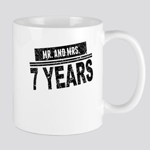 Mr. And Mrs. 7 Years Mugs