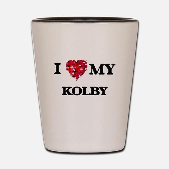 I love my Kolby Shot Glass