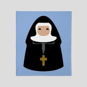 nuns-cute-1_13-5x18 Throw Blanket