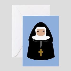 Funny nuns greeting cards cafepress nuns cute 113 5x18 greeting cards m4hsunfo