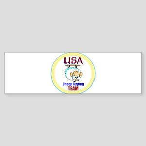 USA Sheep Tippers Bumper Sticker