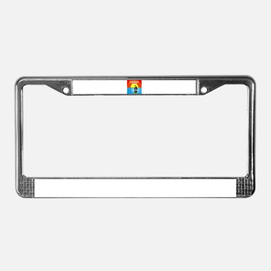 ID RATHER BE SAILING License Plate Frame