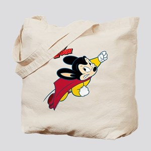 Mighty Mouse Logo11 Tote Bag