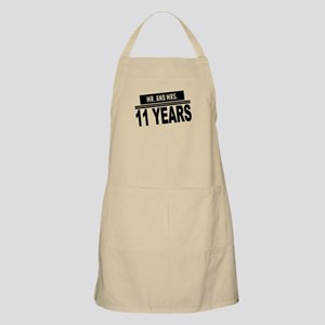 Mr. And Mrs. 11 Years Apron
