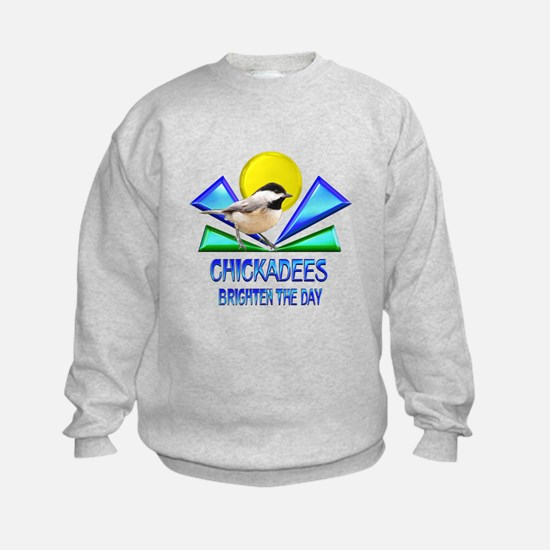 Chickadees Brighten the Day Sweatshirt