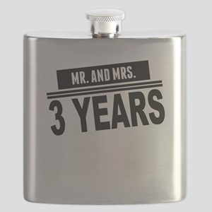 Mr. And Mrs. 3 Years Flask