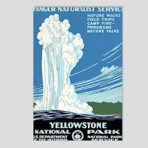 Ranger Naturalist Service Postcards (Package of 8)