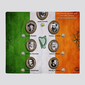 The rising 1916 Throw Blanket
