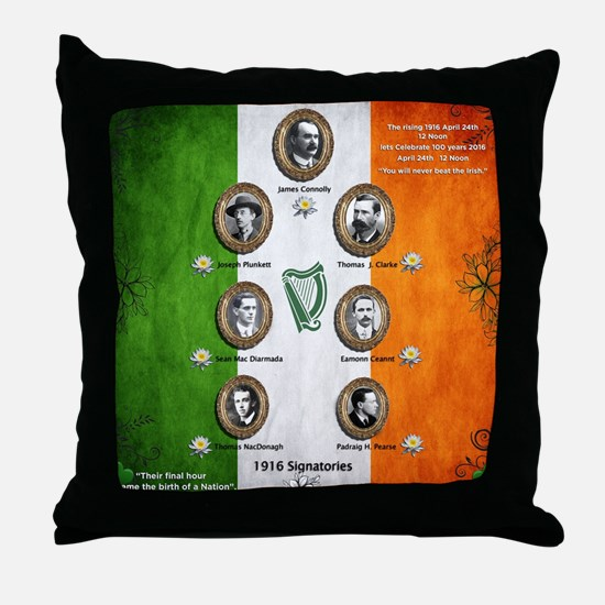 The rising 1916 Throw Pillow