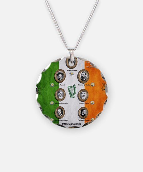 The rising 1916 Necklace Circle Charm