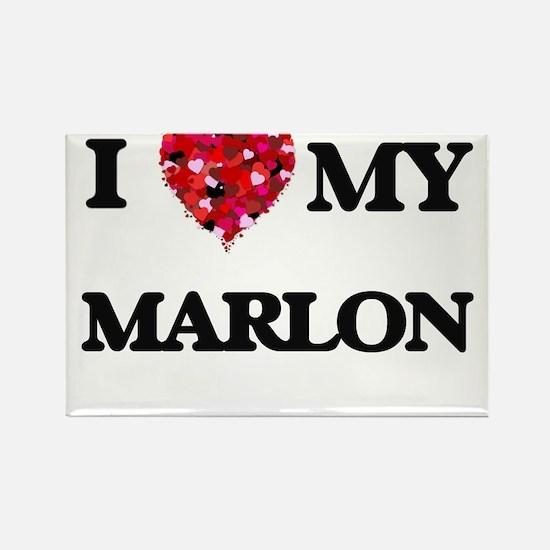 I love my Marlon Magnets