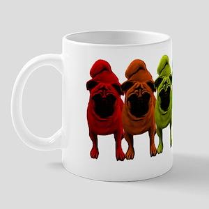 Rainbow Pride Pugs Mug