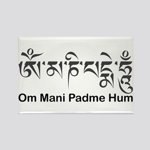 Om Mani Padme Hum Rectangle Magnet Magnets