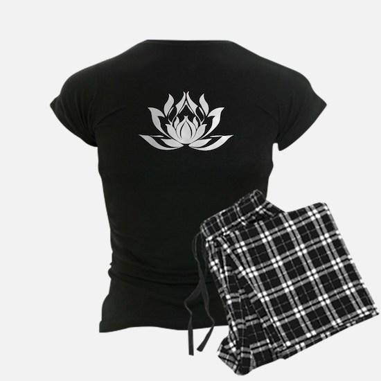 Om Mani Padme Hum Women's Dark Pajamas