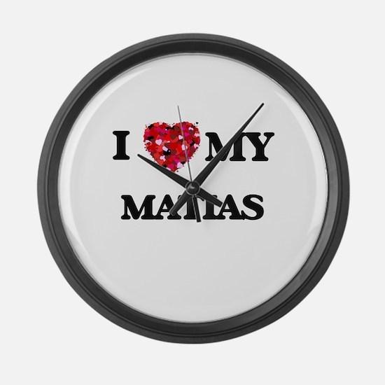 I love my Matias Large Wall Clock