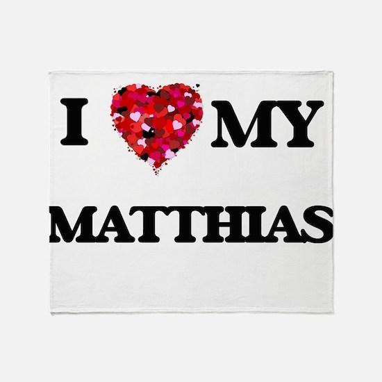 I love my Matthias Throw Blanket
