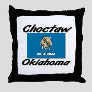 Choctaw Oklahoma Throw Pillow