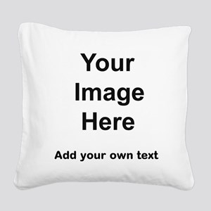 Pet stuff templates Square Canvas Pillow