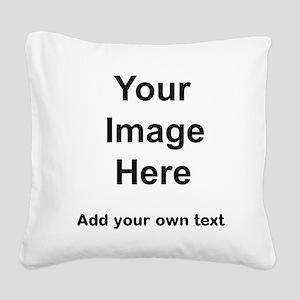 Pet stuff templates Square Canvas Pillow