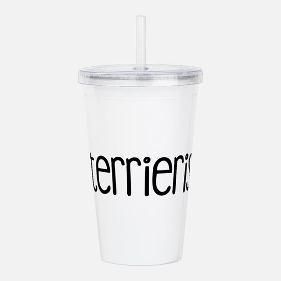 Terrierist Acrylic Double-wall Tumbler