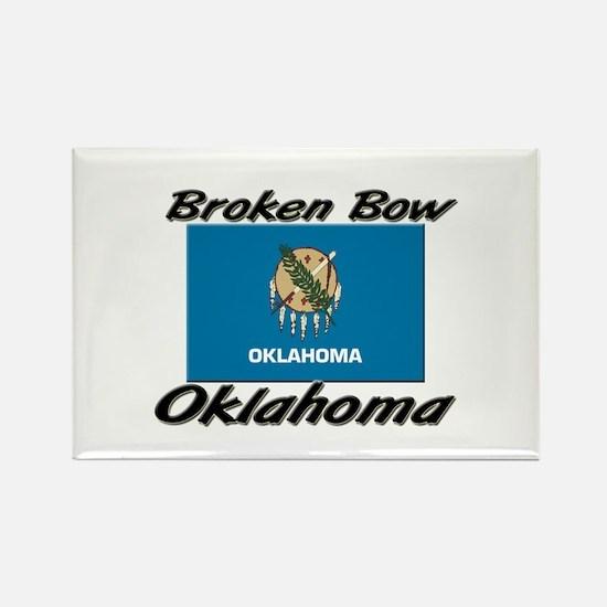 Broken Bow Oklahoma Rectangle Magnet