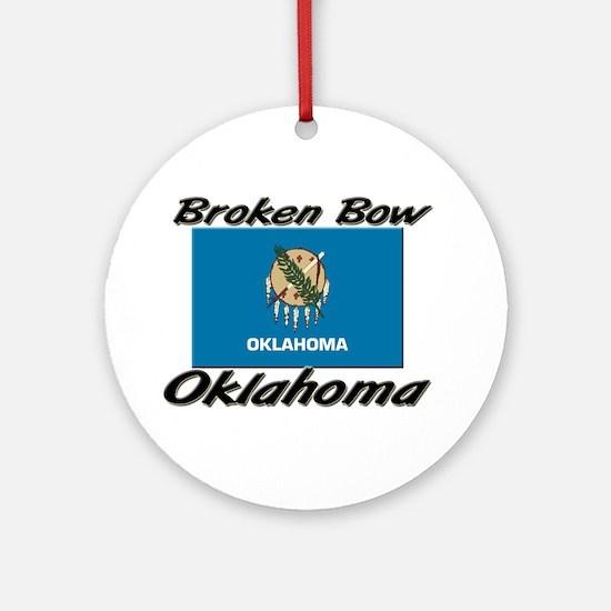 Broken Bow Oklahoma Ornament (Round)