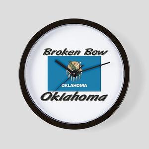 Broken Bow Oklahoma Wall Clock