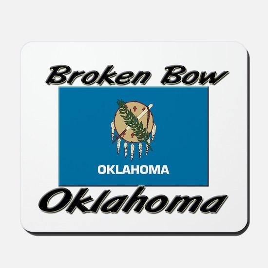 Broken Bow Oklahoma Mousepad