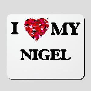 I love my Nigel Mousepad