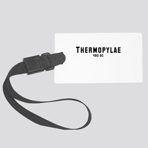 Thermopylae Large Luggage Tag