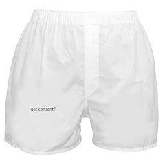 Got Consent? Boxer Shorts