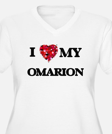 I love my Omarion Plus Size T-Shirt