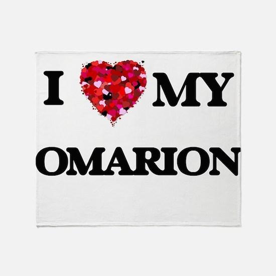 I love my Omarion Throw Blanket